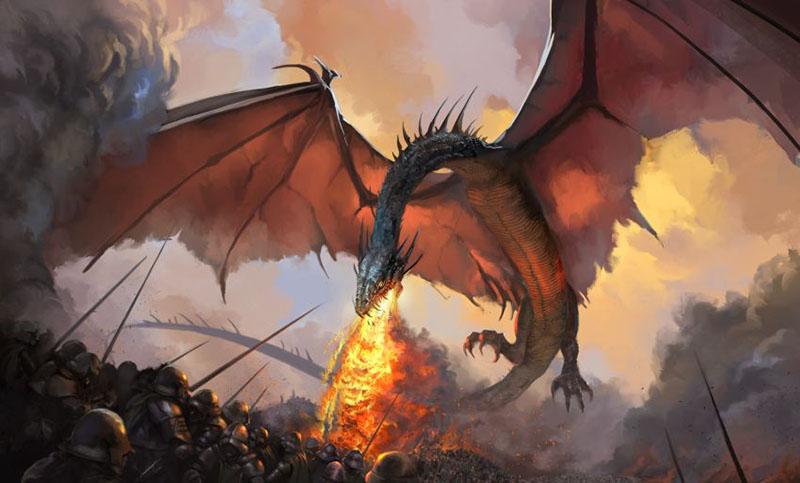 dragão-balerion