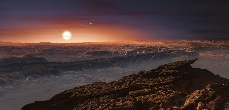 proxima b planeta nova Terra