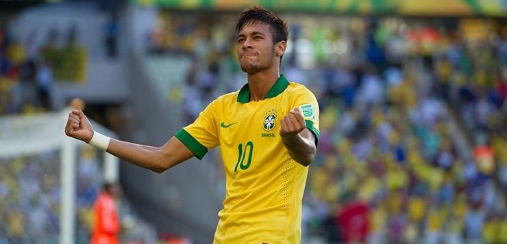 neymar-comemorando