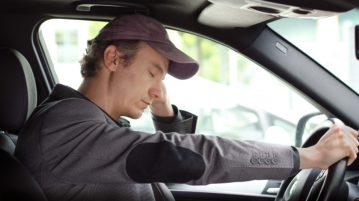 dirigir com sono