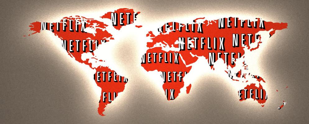 história da Netflix