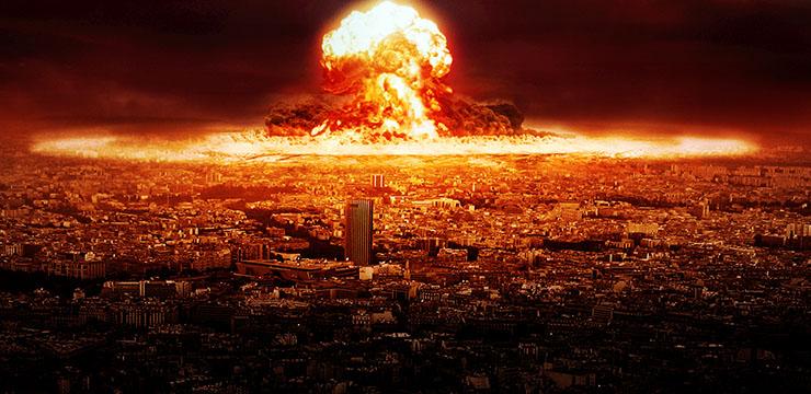 Resultado de imagem para guerra nuclear