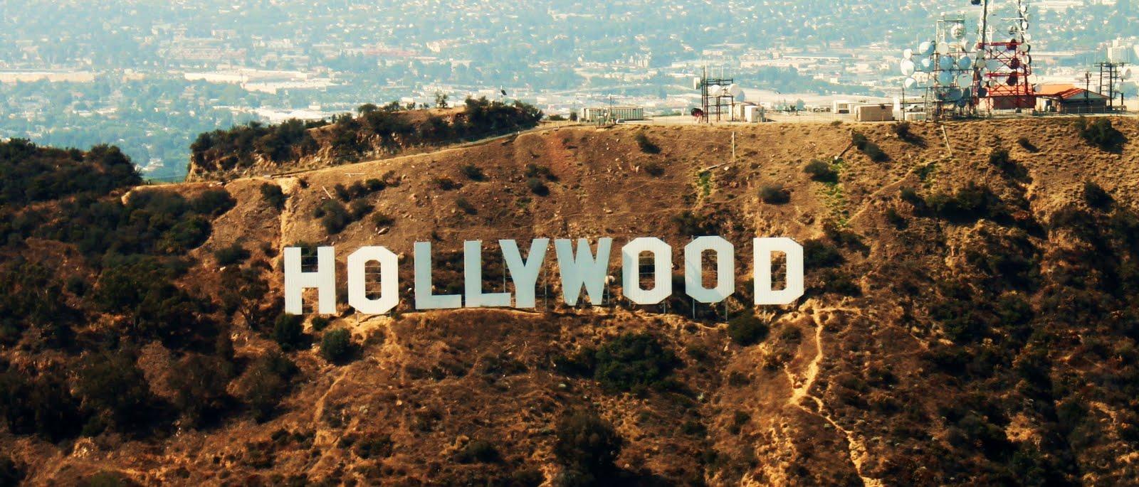 Resultado de imagem para letreiro de hollywood