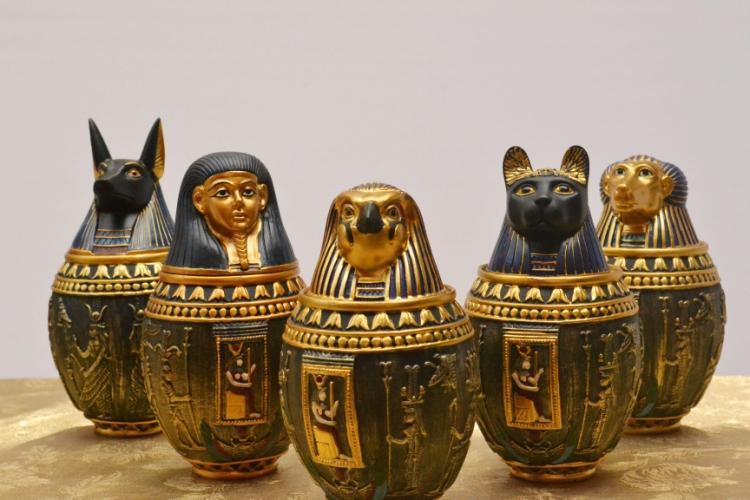 vasos egípcios