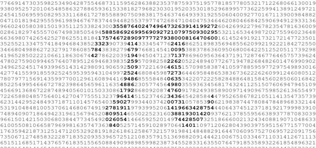 curiosidades sobre o número pi
