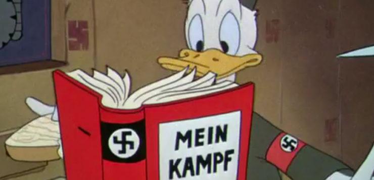 nazismo disney