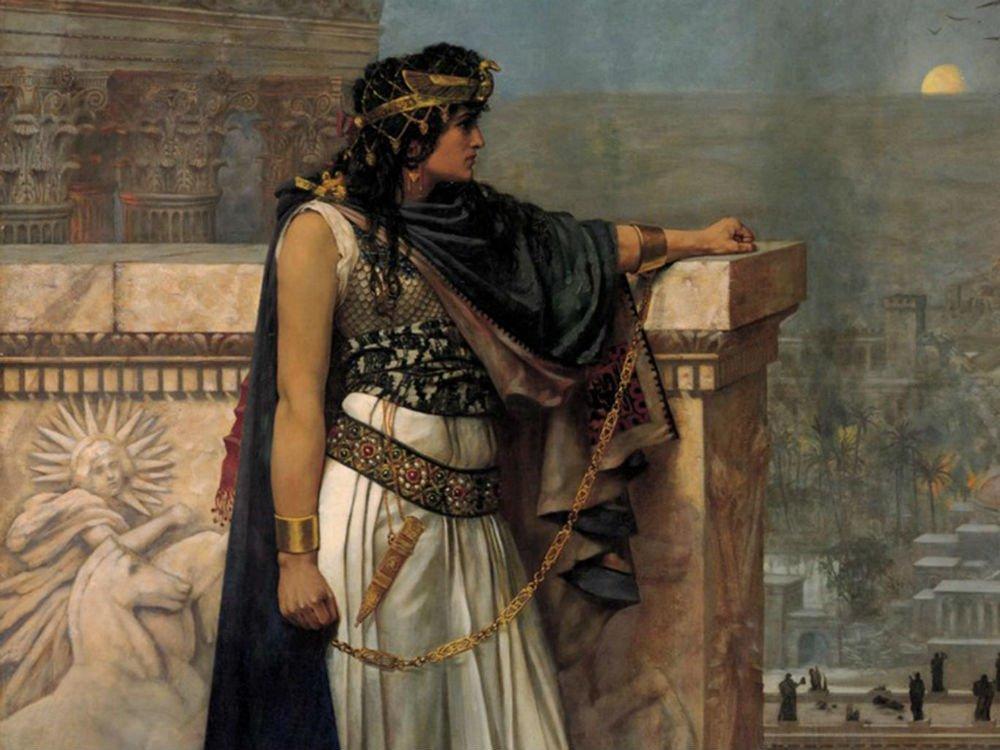 Rainha Zenóbia por Herbert Schmalz