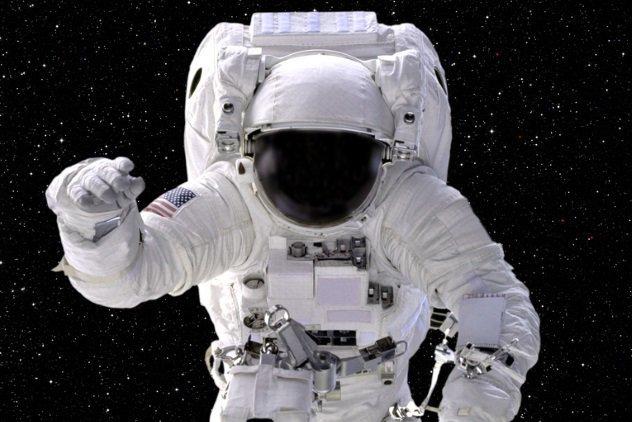 astronautas raça humana