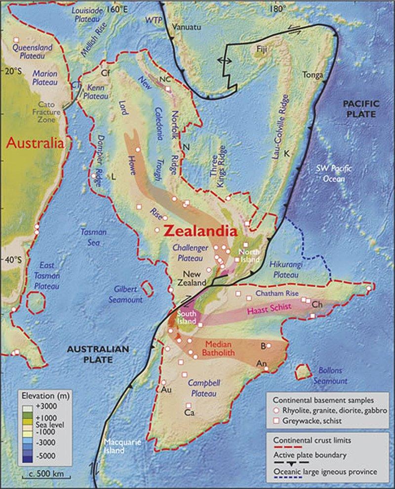 zelândia-mapa