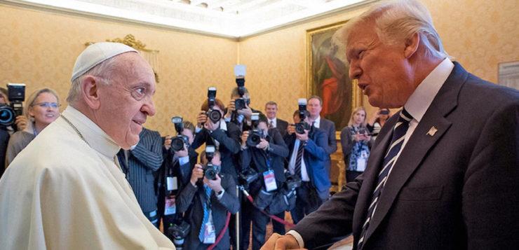 Papa e Trump