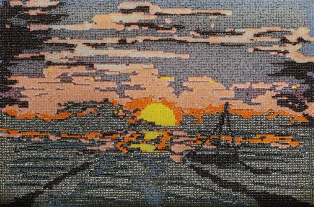 Sunset at the End, by Jasmine Temple of New York University Lagone Medical Center (1st place)