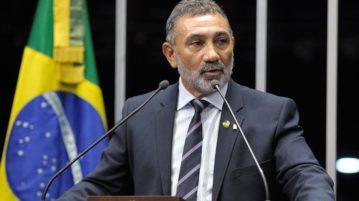 O senador Telmário Mota (Foto: Waldemir Barreto / Agência Senado)