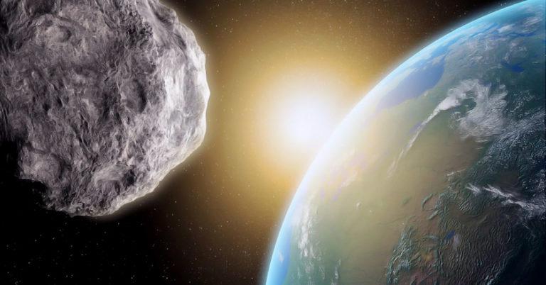O que aconteceria se um asteroide caísse na Terra?