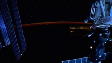 Os astronautas podem ver as estrelas da estação espacial