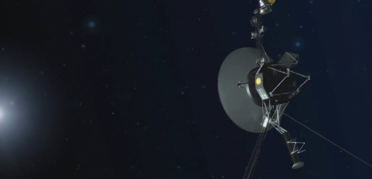Voyager continua recordes
