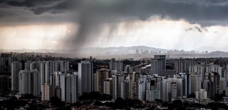 são paulo chuva clima mudanças climáticas