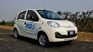 O modelo Chery eQ (Foto: Chery Automobile)