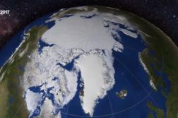 Extensão do gelo do Oceano Ártico é a menor já registrada na história