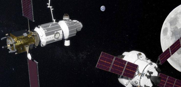 Deep Space Gateway será 1ª estação espacial na órbita da Lua (Foto: Nasa)