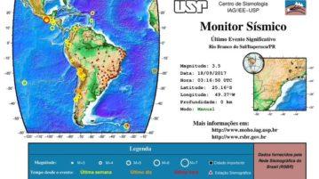 terremoto tremores paraná