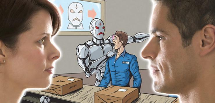 Os robôs devem roubar os empregos dos homens ou das mulheres