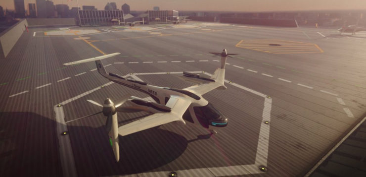 carro voador uber