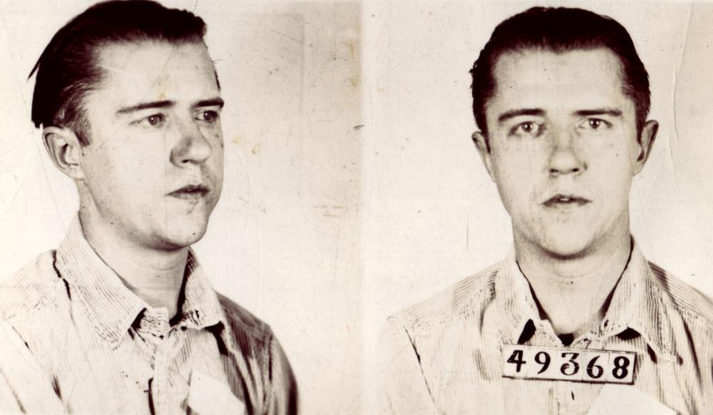 Foto da prisão de Alvin Karpis. Fonte: alcatrazhistory.com