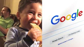 AN garotinho google