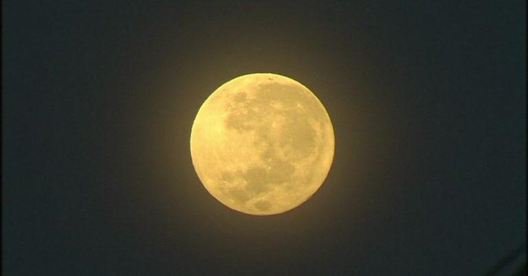 Hoje! Última Superlua do ano poderá ser vista na noite desta quarta-feira