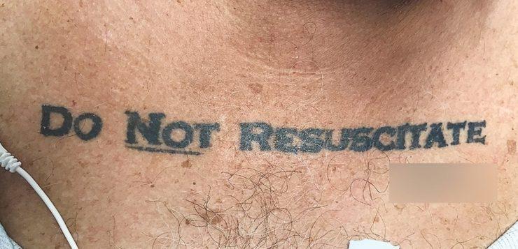 não ressuscite