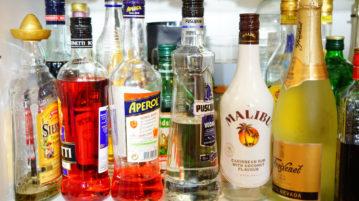 álcool bebidas