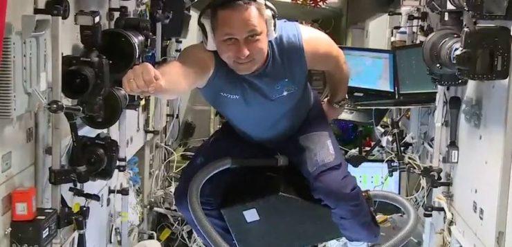AN astronauta aspirador