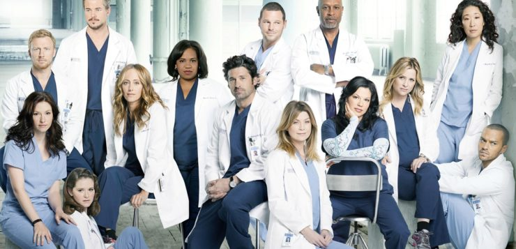 AN grey's anatomy