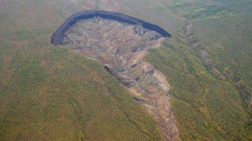 cratera batagaika