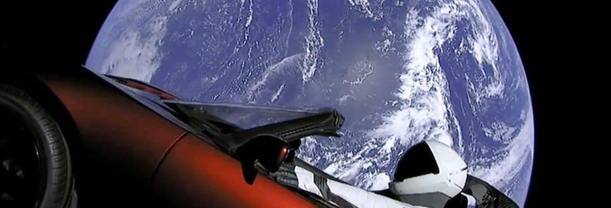 foguete-carro tesla capa