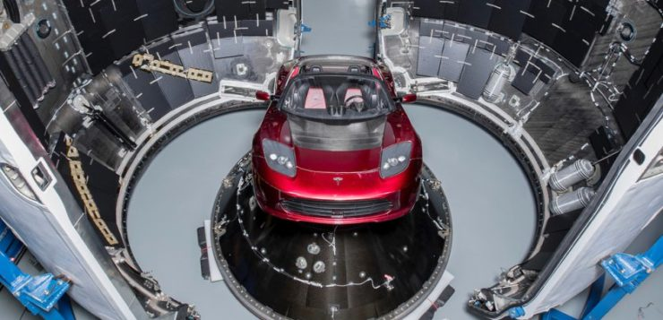 tesla spacex