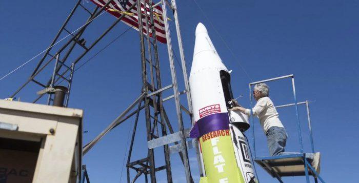 foguete terra plana
