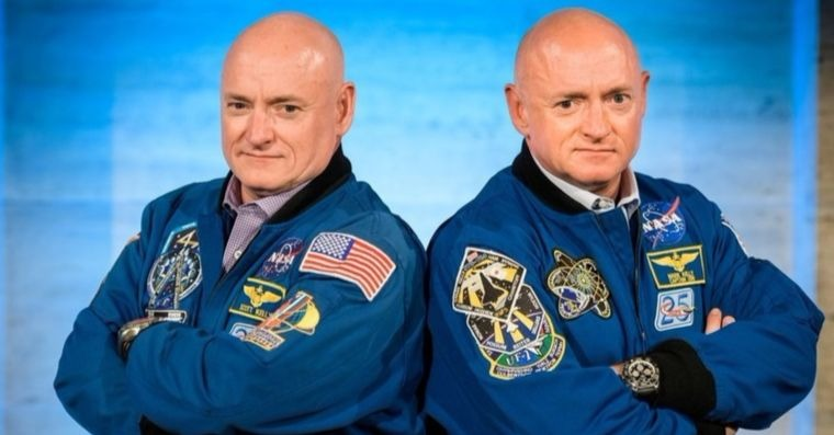 gêmeos-mark e scott kelly capa