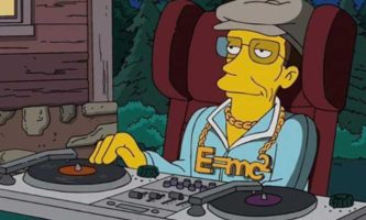 stephen hawking simpsons