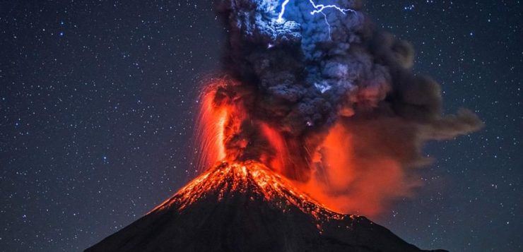 vulcão trovão