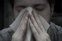 gripe-nariz entupido capa