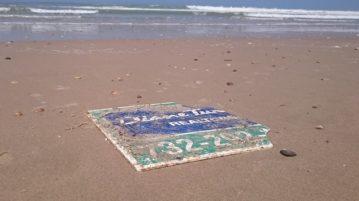 AN placa furacão sandy