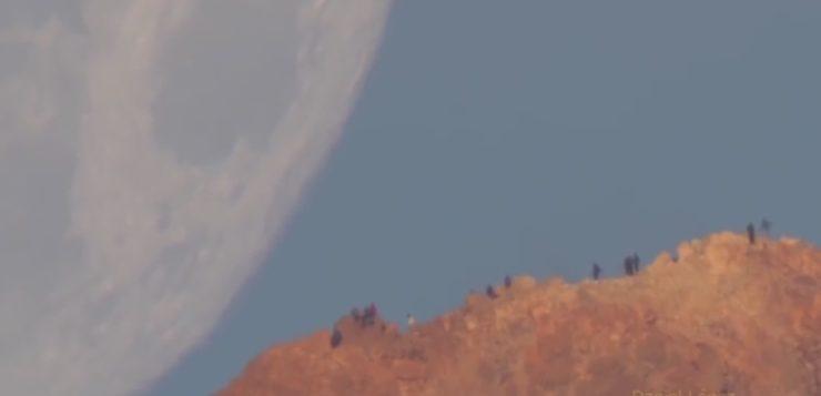 Surpreendente! Nasa divulga vídeo da lua descendo sobre a Terra