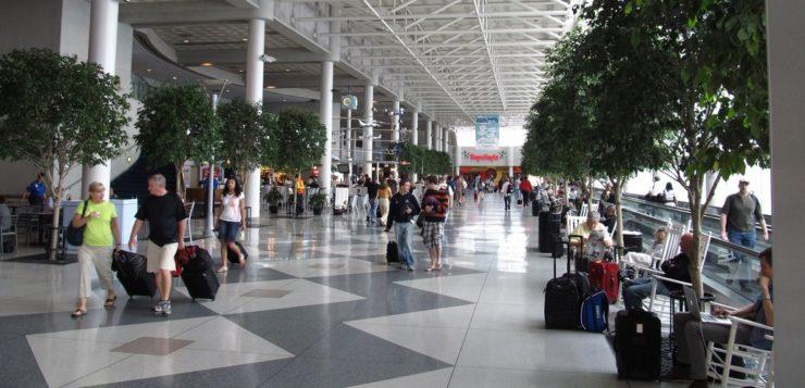 AN aeroporto Estados Unidos voos nos EUA