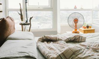 dormir com ventilador