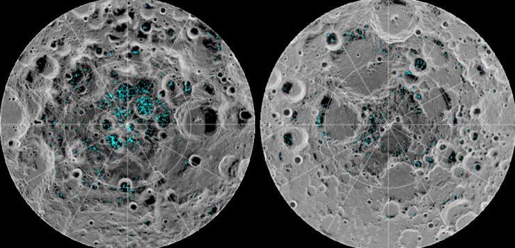 AN lua gelo nasa