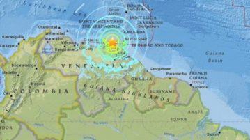 AN terremoto venezuela manaus brasil