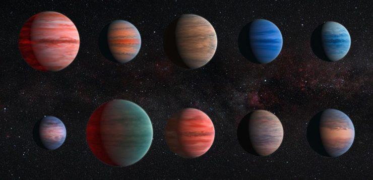 planetas com água