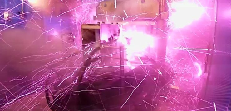 campo magnético explosao