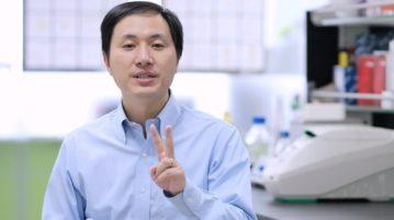 AN cientista chines bebes geneticamente modificados